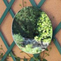 Miroir rond à coller 40 cm
