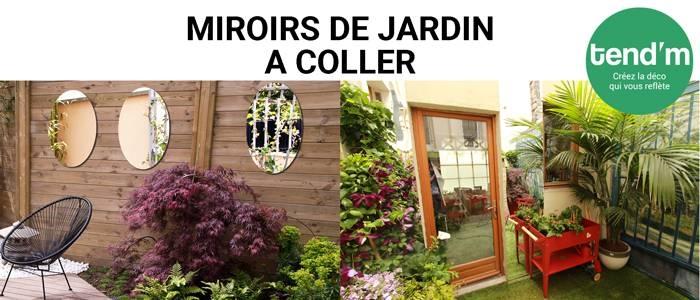 Espejos para pegar miroirs de jardin for Espejos pequenos para pegar