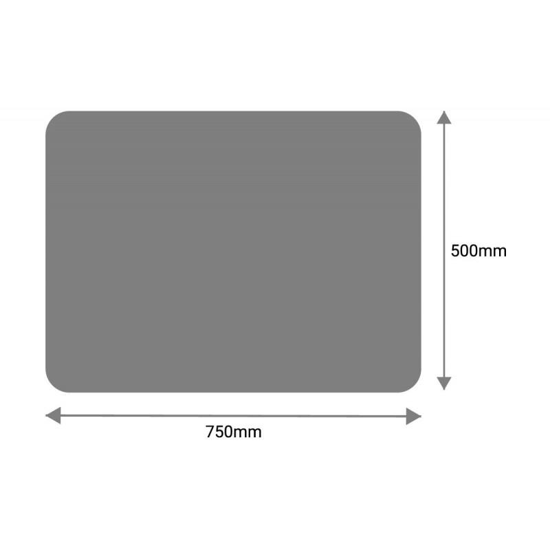 Miroir de sécurité 500x750mm Rectangulaire 5mm