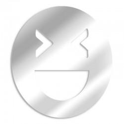 Dekorativer Spiegel-Smileyspott