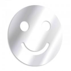 Lächelnder dekorativer Spiegel des Smiley