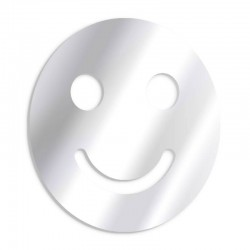 Smiling smiley decorative mirror
