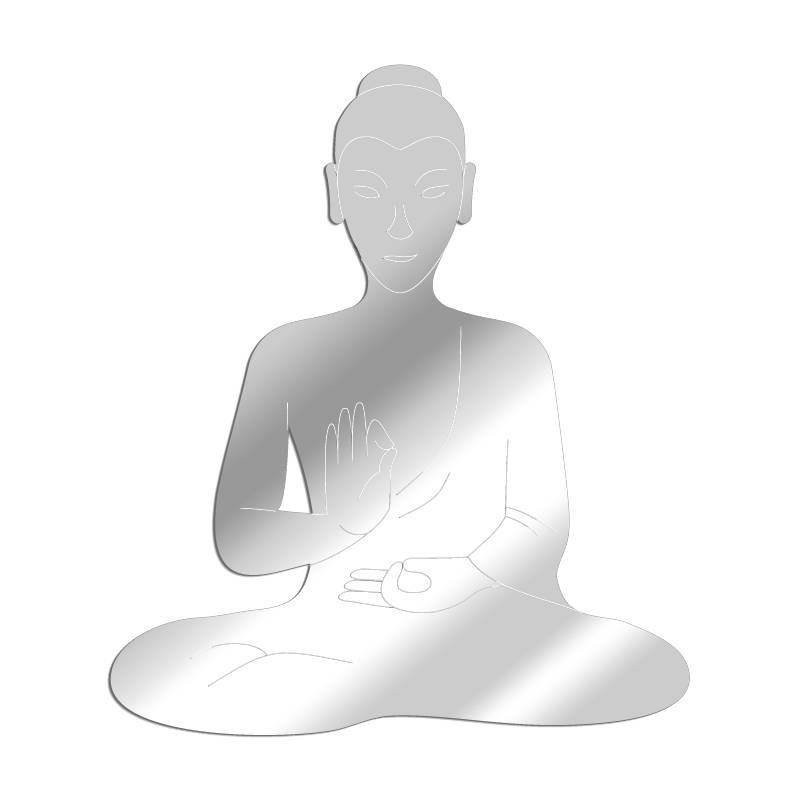 Miroir décoratif Bouddha