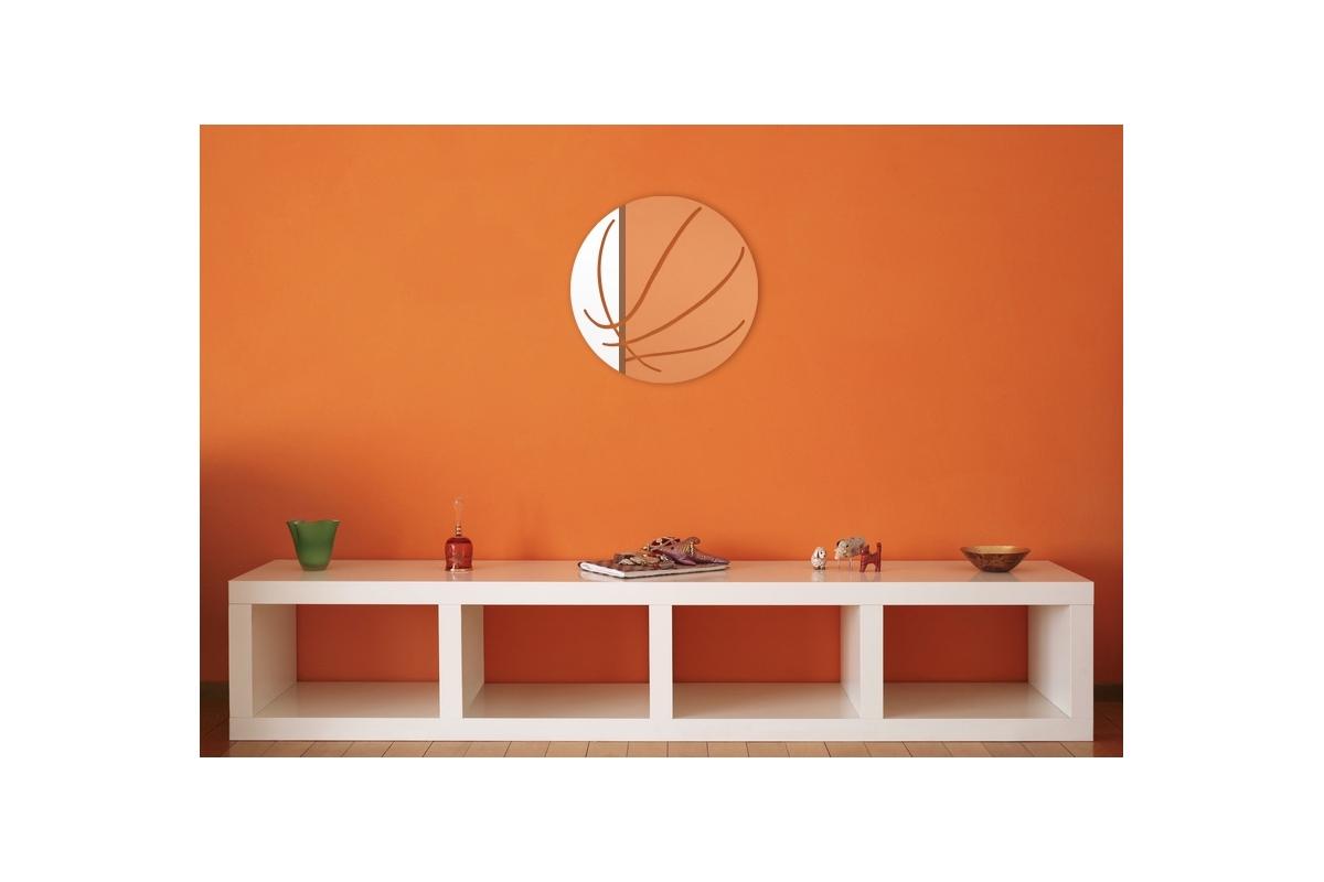 miroir d coratif ballon de basket tendancemiroir. Black Bedroom Furniture Sets. Home Design Ideas