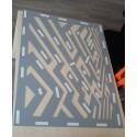 Mirror maze design