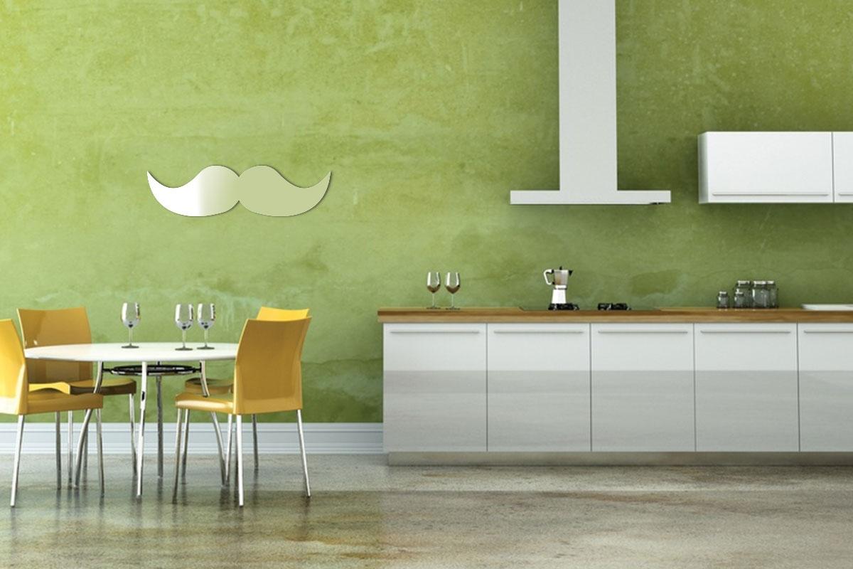 Miroir d coratif moustache tendancemiroir for Miroir decoratif
