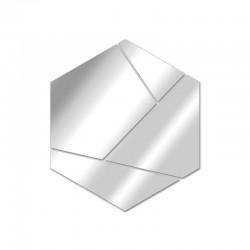 Espejo de diseño hexagonal