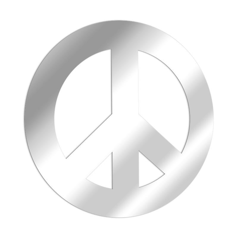 Miroir décoratif Peace & Love