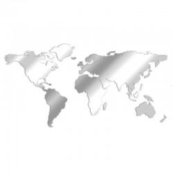 Miroir design Carte du Monde