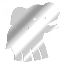 Dekorativer Spiegel des Elefanten