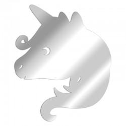 Decorative mirror Unicorn head