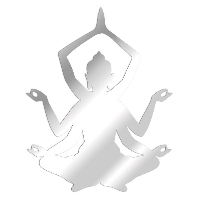 Miroir déco Shiva