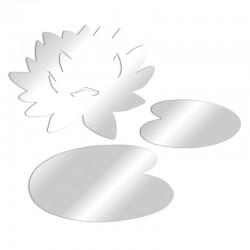 Dekorativer Spiegel Seerose
