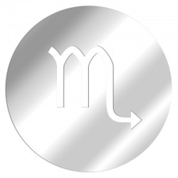 Scorpion Zodiac Mirror