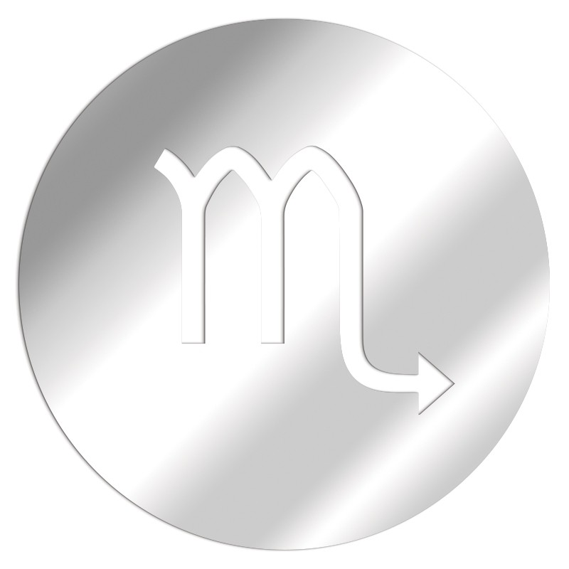 Miroir Zodiaque Scorpion