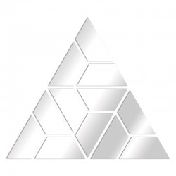 Mirror design triangles