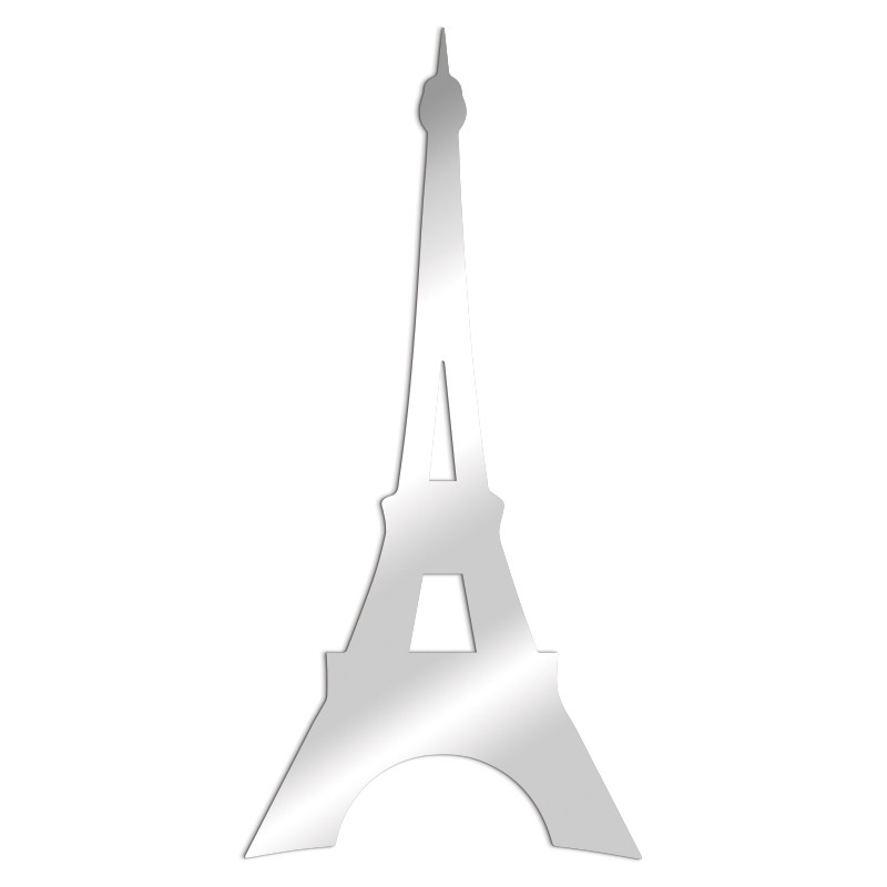 Miroir décoratif Tour Eiffel Paris