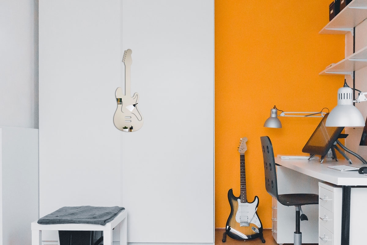 Dekorative Spiegel E Gitarre Tendancemiroir