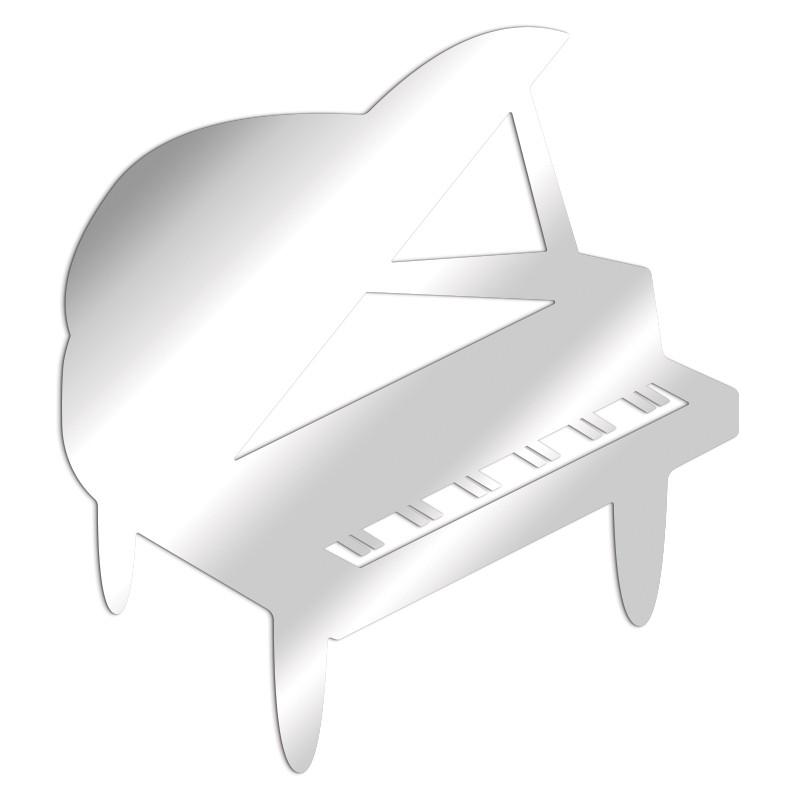 miroir décoratif piano à queue