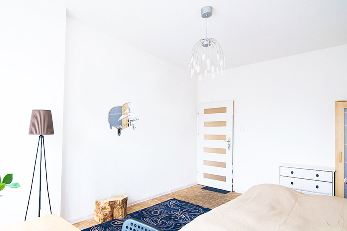 miroir d coratif smiley heureux tendance miroir design. Black Bedroom Furniture Sets. Home Design Ideas