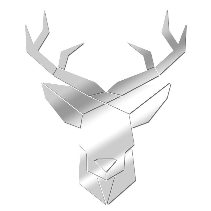 Miroir Cerf géométrique