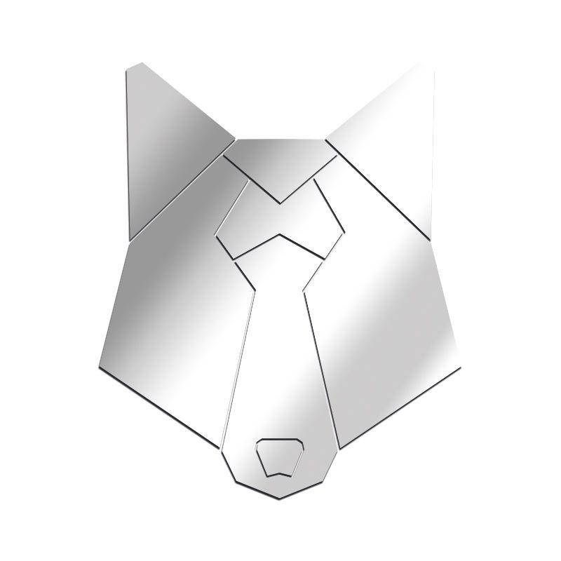 Miroir Loup géométrique