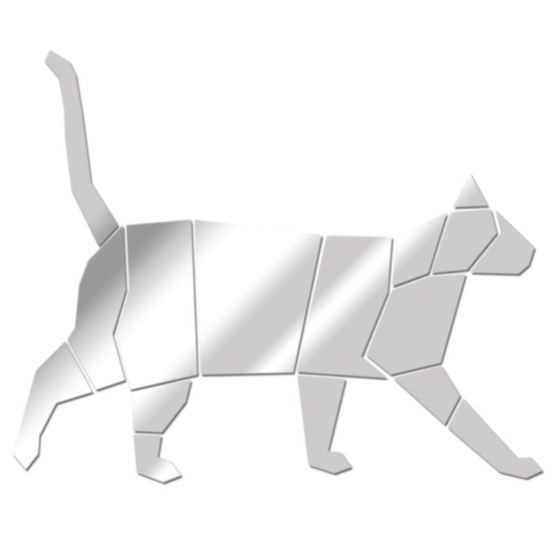 Miroir Chat géométrique