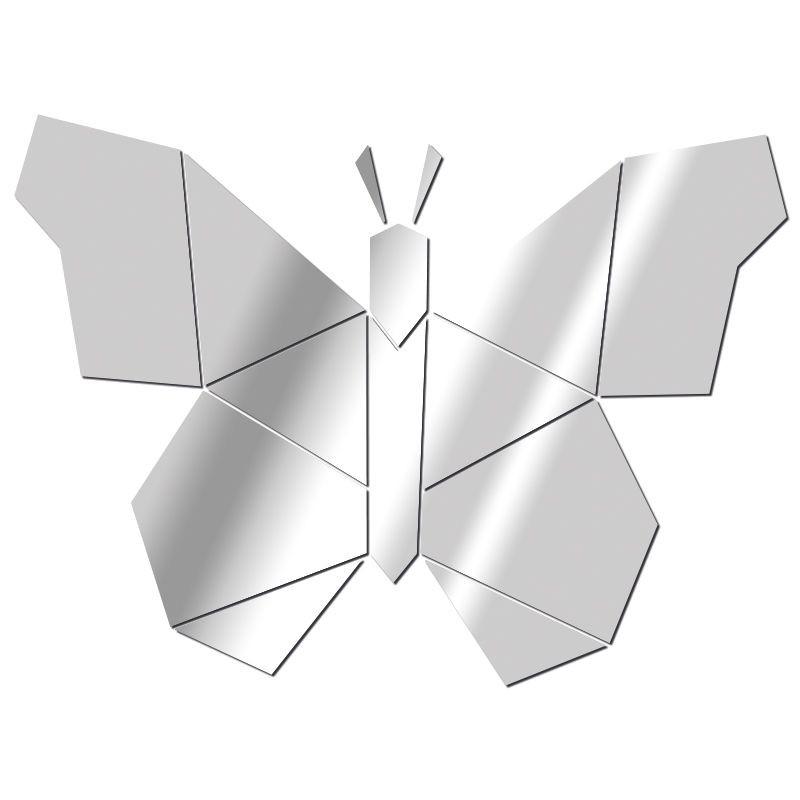 Miroir Papillon géométrique
