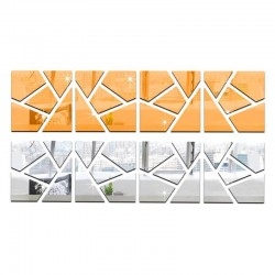 Espejo de diseño 3D irregular