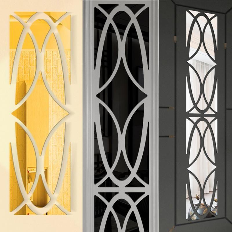 Mittelalterlicher Fensterdekorativer Spiegel