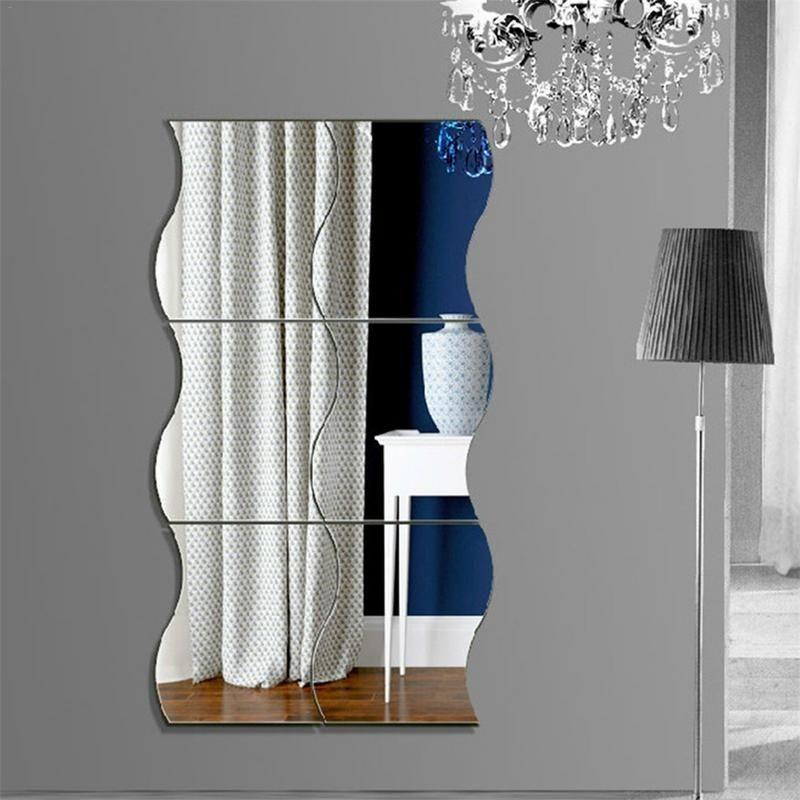 Miroir géométrique Vague