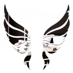 Espejo de alas de ángel 3D