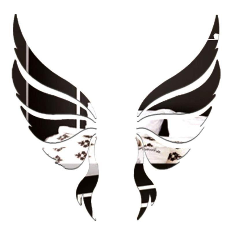 Specchio ali d'angelo 3D