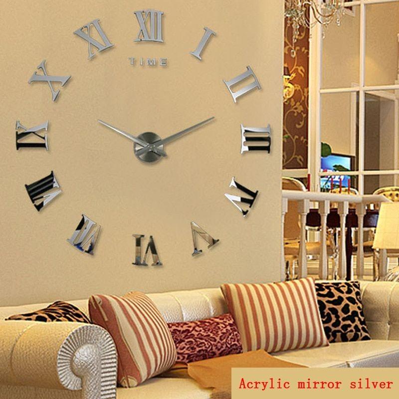 Horloge murale chiffres romains