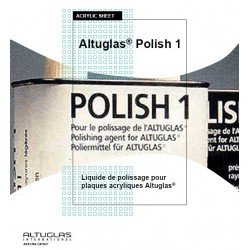 Polish1 for acrylic mirror - Altuglas Polish n ° 1