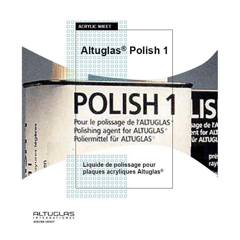 Polish1 pour miroir acrylique - Altuglas Polish n°1
