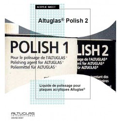 Polish2 for acrylic mirror - Altuglas Polish n ° 2