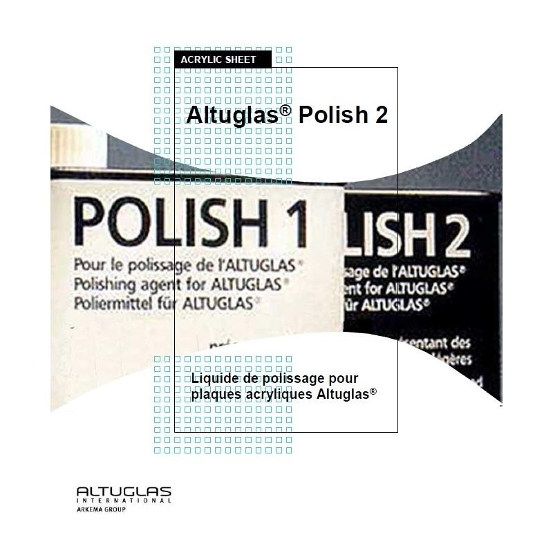 Polish2 pour miroir acrylique - Altuglas Polish n°2