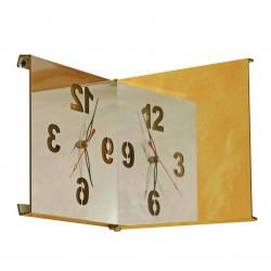 Quadratische Spiegel Design Uhr
