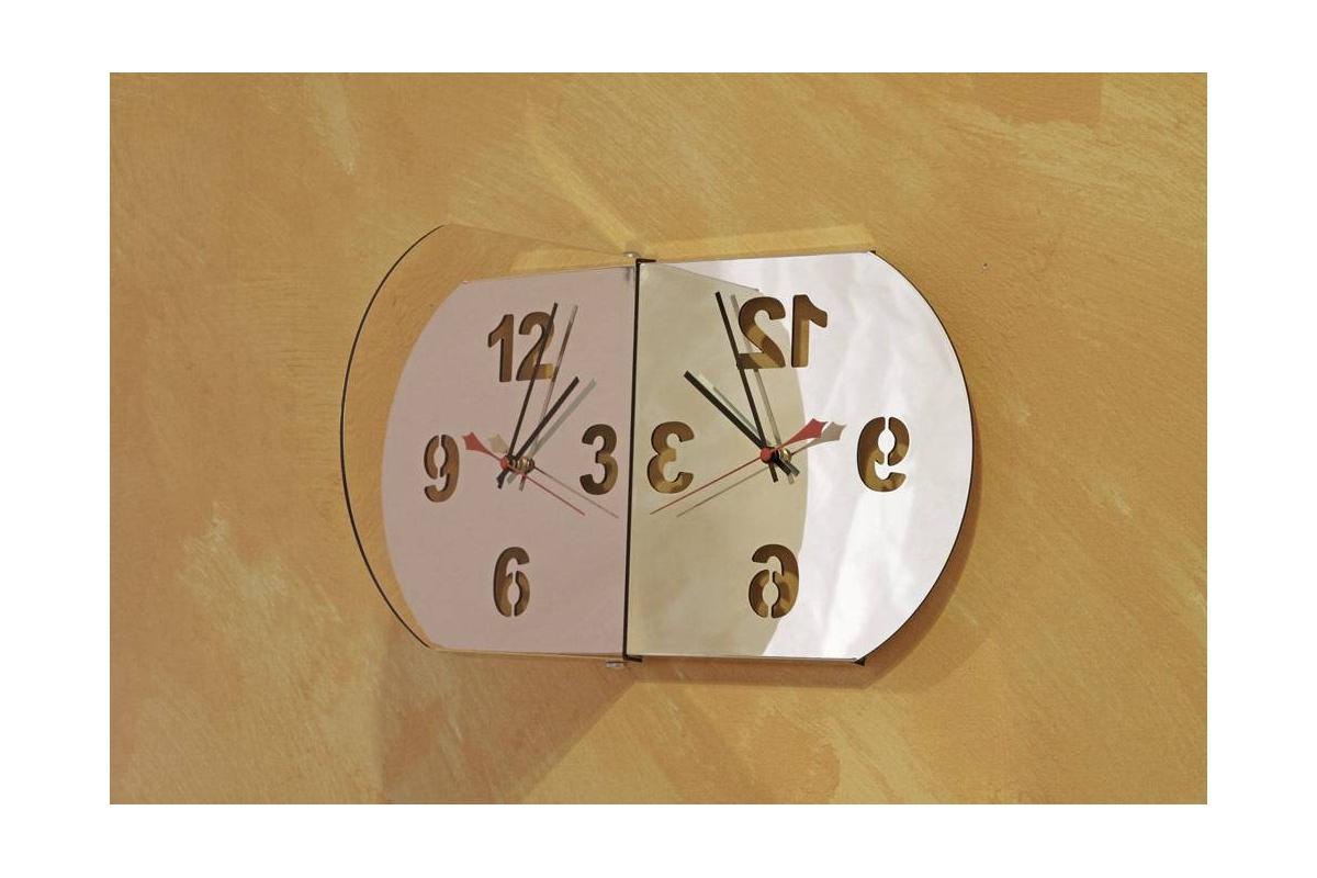 horloge design miroir carr tendance miroir design. Black Bedroom Furniture Sets. Home Design Ideas