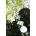 Exemple de composition de miroirs de jardin à accrocher