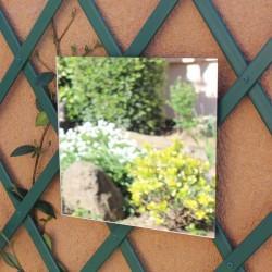 Miroir carré à coller 40 cm