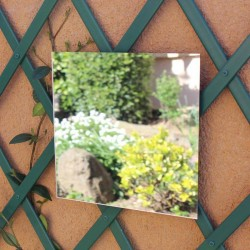 Square mirror to stick 40 cm
