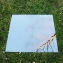 Miroir de jardin 100x100 cm en acrylique