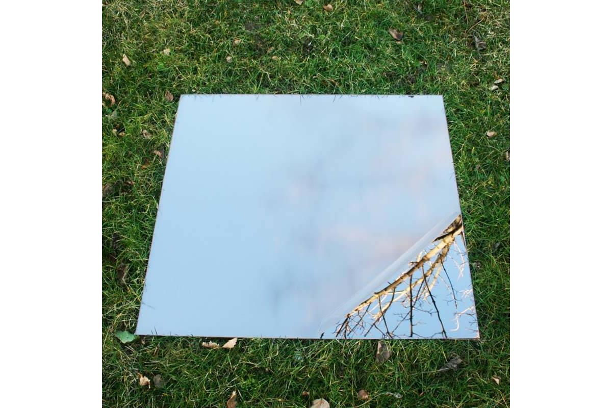 garten spiegel 100x100 cm acryl tendance miroir design. Black Bedroom Furniture Sets. Home Design Ideas