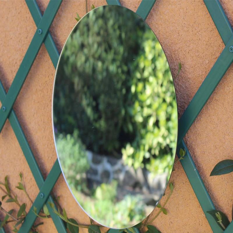 Miroir oval 40 cm