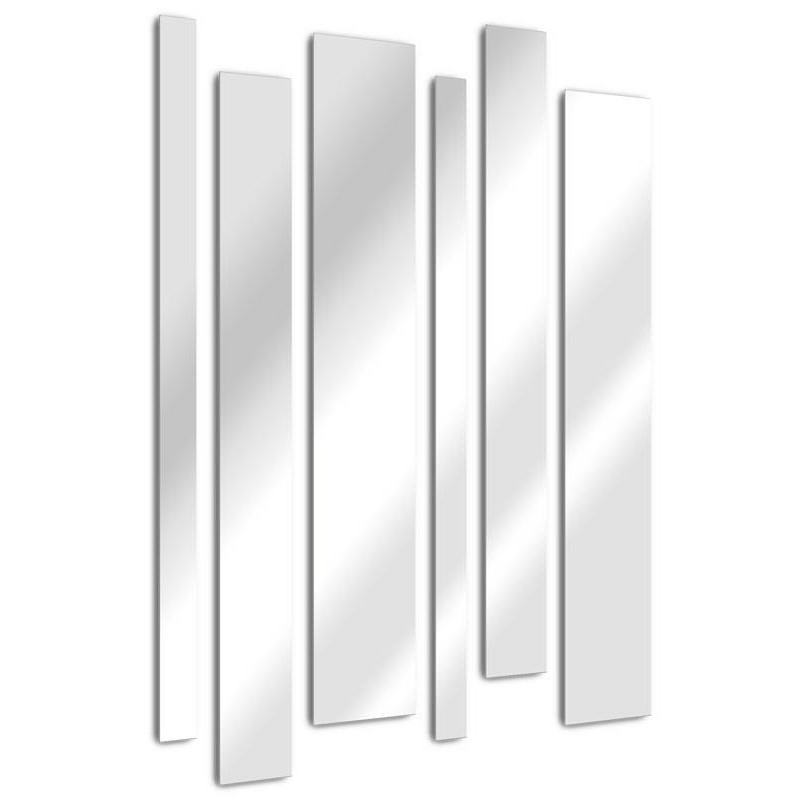 Straight blades mirror design