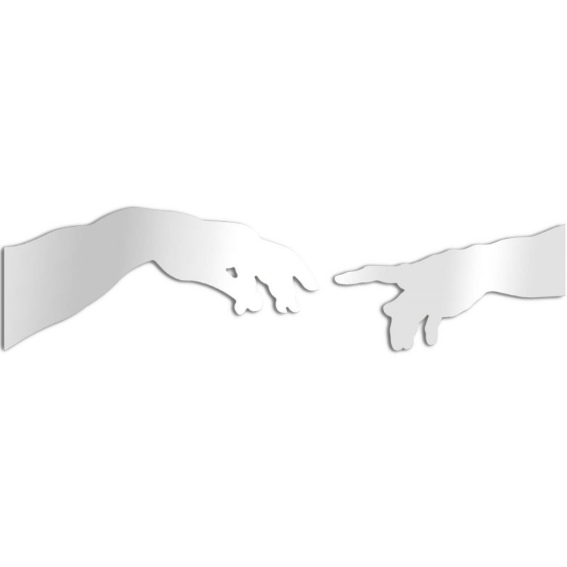 Design Spiegel der Erschaffung Adams - Michelangelo