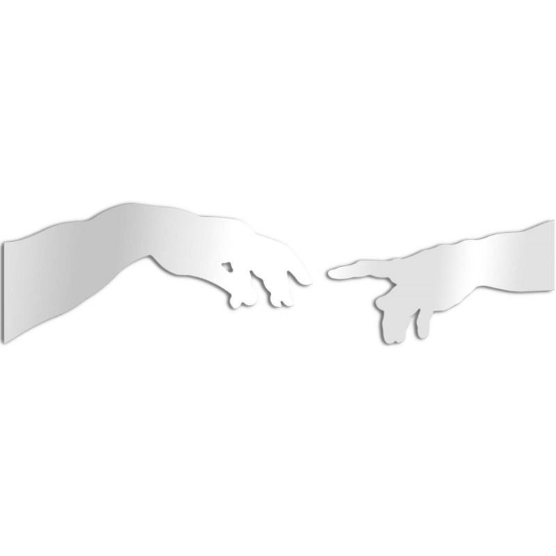 Specchio design creazione di Adamo - Michelangelo