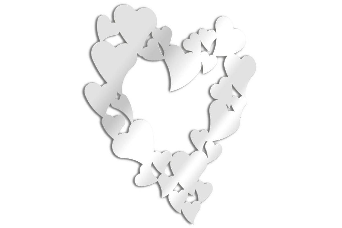 mirror design hearts tendance miroir design. Black Bedroom Furniture Sets. Home Design Ideas